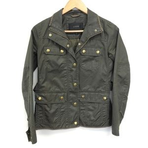 J Crew | Military Green Utility Jacket